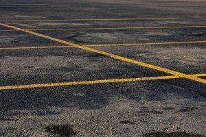 parking lot pavement