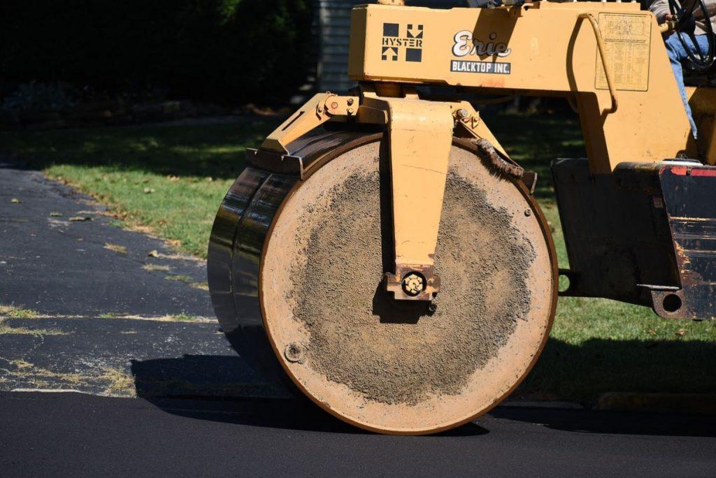 paving roller